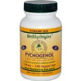 Image 0 of Pycnogenol 150Mg 1x120 VCap Each by HEALTHY ORIGINS