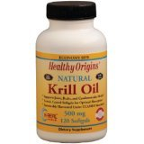 Image 0 of Krill Oil 500Mg 1x120  Soft Gel Each by HEALTHY ORIGINS
