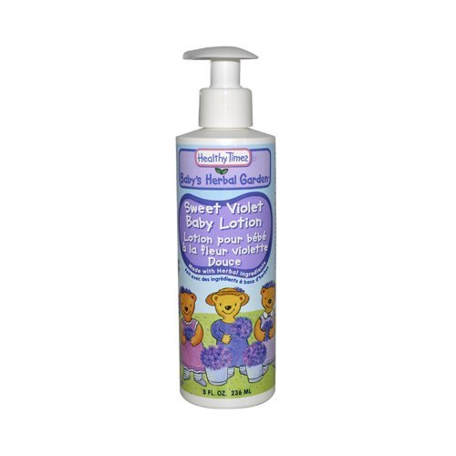 Baby Lotion Sweet Violet 1x8 Fluid oz Each by HEALTHY TIMES