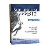 Sublingual B12 W/B6 1x30 Tab Each by HEAVEN SENT