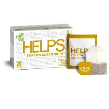 Tea Low Sugar Diets 1x20 Bag Each by HELPS TEAS