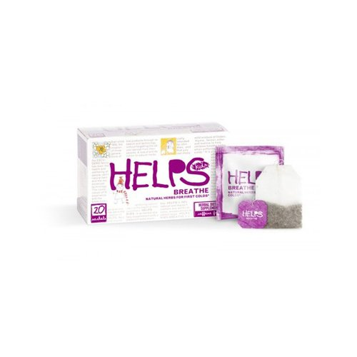 Tea Kids Breathe Cold&Flu 1x20 Bag Each by HELPS TEAS