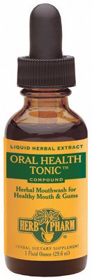 Image 0 of Oral Health Tonic 1x1 Fluid oz Each by HERB PHARM