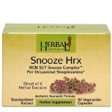 Snooze Hrx 1x60 VCap Each by HERBAL DESTINATION