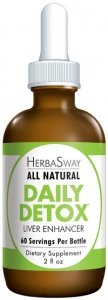 Daily Detox 1x2 oz Each by HERBASWAY