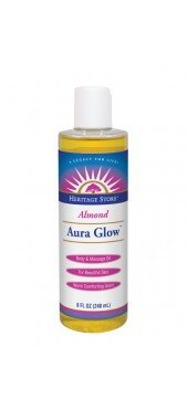 Aura Glow Body Oil Alemond 1x8 Fluid oz Each by HERITAGE STORE