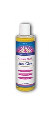 Aura Glow Body Oil Cocont 1x8 Fluid oz Each by HERITAGE STORE