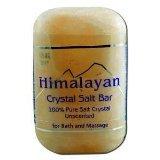 Bath Salt Bar 1x9 oz Each by HIMALAYAN SALT
