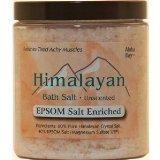 Bath Salt 40% Epsom 1x24 oz Each by HIMALAYAN SALT