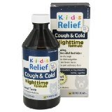 Kids Cough&Cold Nighttime 1x8.5 Fluid oz Each by HOMEOLAB USA