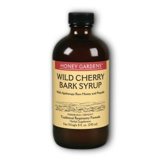 Cough Syrup Wld Chry Bark 1x8 Fluid oz Each by HONEY GARDENS APIARIES