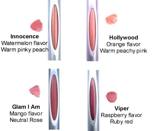 Image 0 of Lip Gloss Viper 1x6 ML Each by HONEYBEE GARDENS