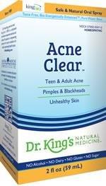 Acne Clear 1x2 oz Each by KING BIO HOMEOPATHIC
