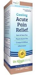 Acute Pain Relief Cream 1x3 oz Each by KING BIO HOMEOPATHIC