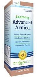 Advanced Arnica Cream 1x3 oz Each by KING BIO HOMEOPATHIC