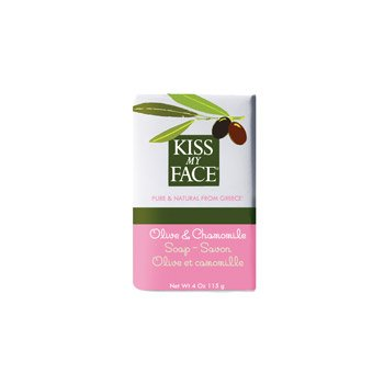 Bar Soap Olive & Chamomil 1x4 oz Each by KISS MY FACE