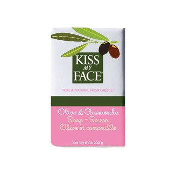 Bar Soap Olive & Chamomil 1x8 oz Each by KISS MY FACE