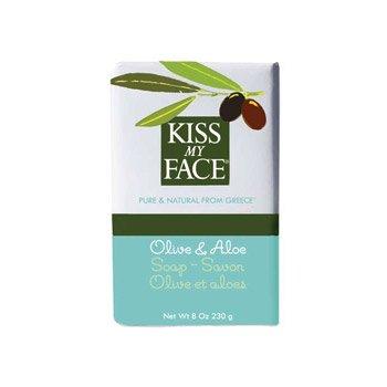 Bar Soap Olive & Aloe 1x8 oz Each by KISS MY FACE