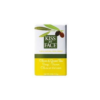 Bar Soap Olive & Green Tea 1x4 oz Each by KISS MY FACE