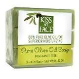 Bar Soap Naked Olive Oil 1x3/4 oz Each by KISS MY FACE
