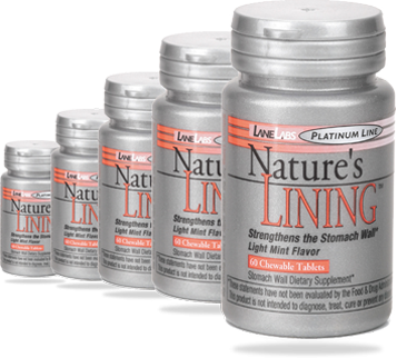 Nature'S Lining 1x60 Tab Each by LANE LABS