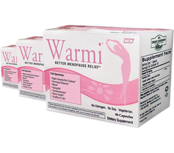 Warmi Menopause Relief 1x90 Cap Each by LANE LABS