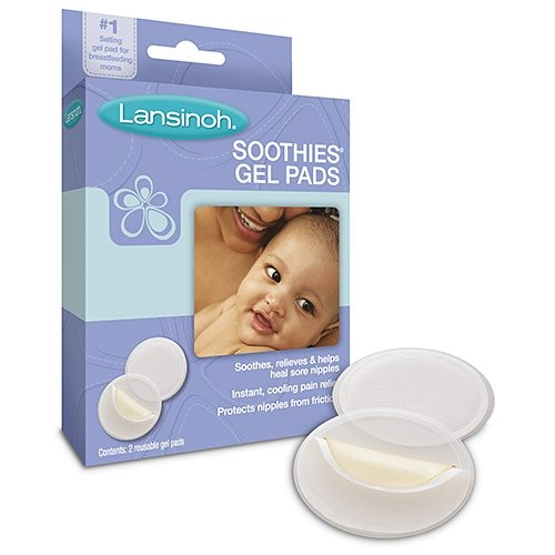 Soothies Gel Pads 1x2 count Each by LANSINOH
