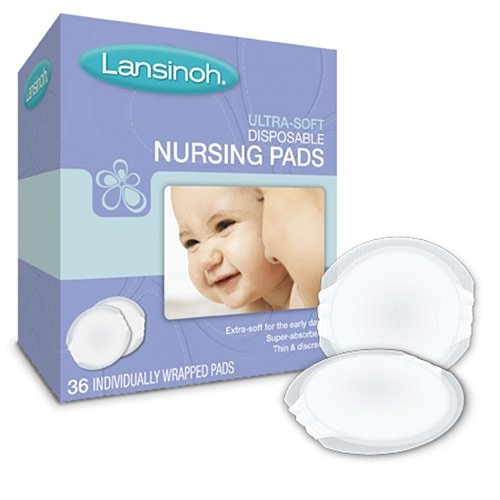 Ultra-Soft Disposable Nursing Pads 36 Count By Lansinoh