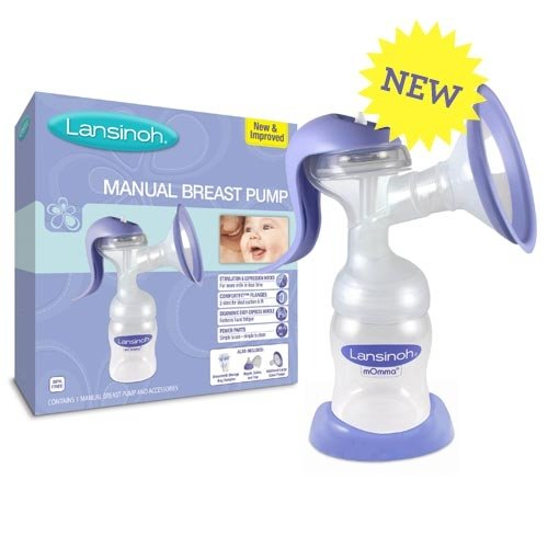 Breast Pump Manual 1x count Each by LANSINOH