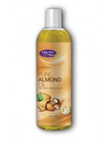 Almond Oil Pure 1x16 Fluid oz Each by LIFE FLO