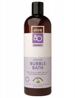 Aloe 80 Bubble Bath 1x16 Fluid oz Each by LILY OF THE DESERT