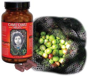 Camu Camu Capsules 60 Count By Maca Magic