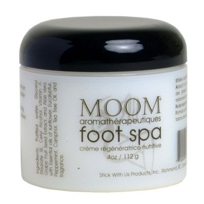 Aromatherapy Foot Spa Cream 4 Oz By Moom