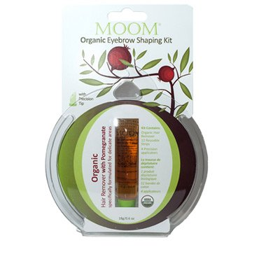 Organic Eyebrow Shaping Kit With Pomegranate By Moom