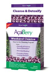 AcaiBerry Weekend Cleanse 10 Cap Each by NATROL