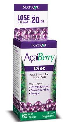 AcaiBerry Diet Caps 1x60 Cap Each by NATROL