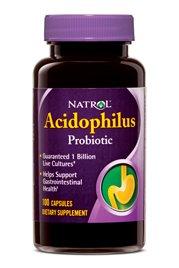 Acidophilus 100Mg 1x100 Cap Each by NATROL