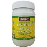 Coconut Oil Organic(95%+) X-Virg Pet 1x15 Fluid oz Each by NUTIVA