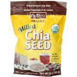 Chia Seeds Organic(95%+) Milled 1x12 oz Each by NUTIVA