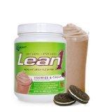 Lean1 Shake Cookies&Cream 1x1.3 LB Each by NUTRITION53