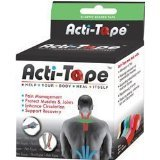 Acti-Tape Kinesiolg Green 1x16.4 FT Each by NUTRIWORKS