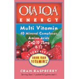 Energy Cran-Raspberry 1x30 PackT Each by OLA LOA PRODUCTS