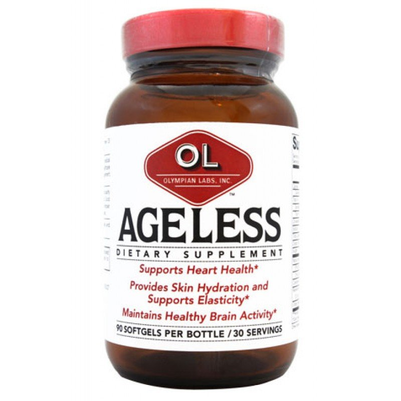 Ageless 1x90 Soft Gel Each by OLYMPIAN LABS