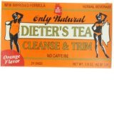 Image 0 of Cleansing Diet Tea Orange 1x24 Bag Each by ONLY NATURAL