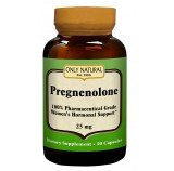 Image 0 of Pregnenolone 25Mg 1x50 Cap Each by ONLY NATURAL