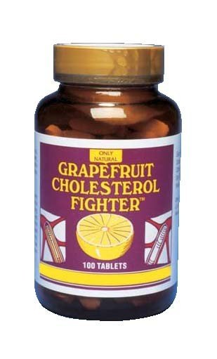 Image 0 of Grapefruit Cholester 1x100 Tab Each by ONLY NATURAL
