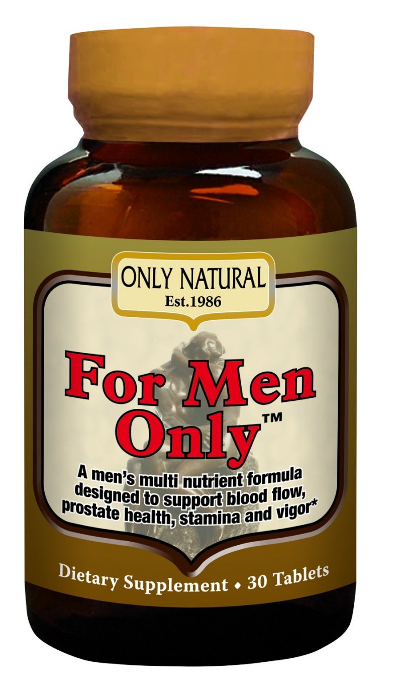 Image 0 of For Men Only Formula 1x30 Tab Each by ONLY NATURAL