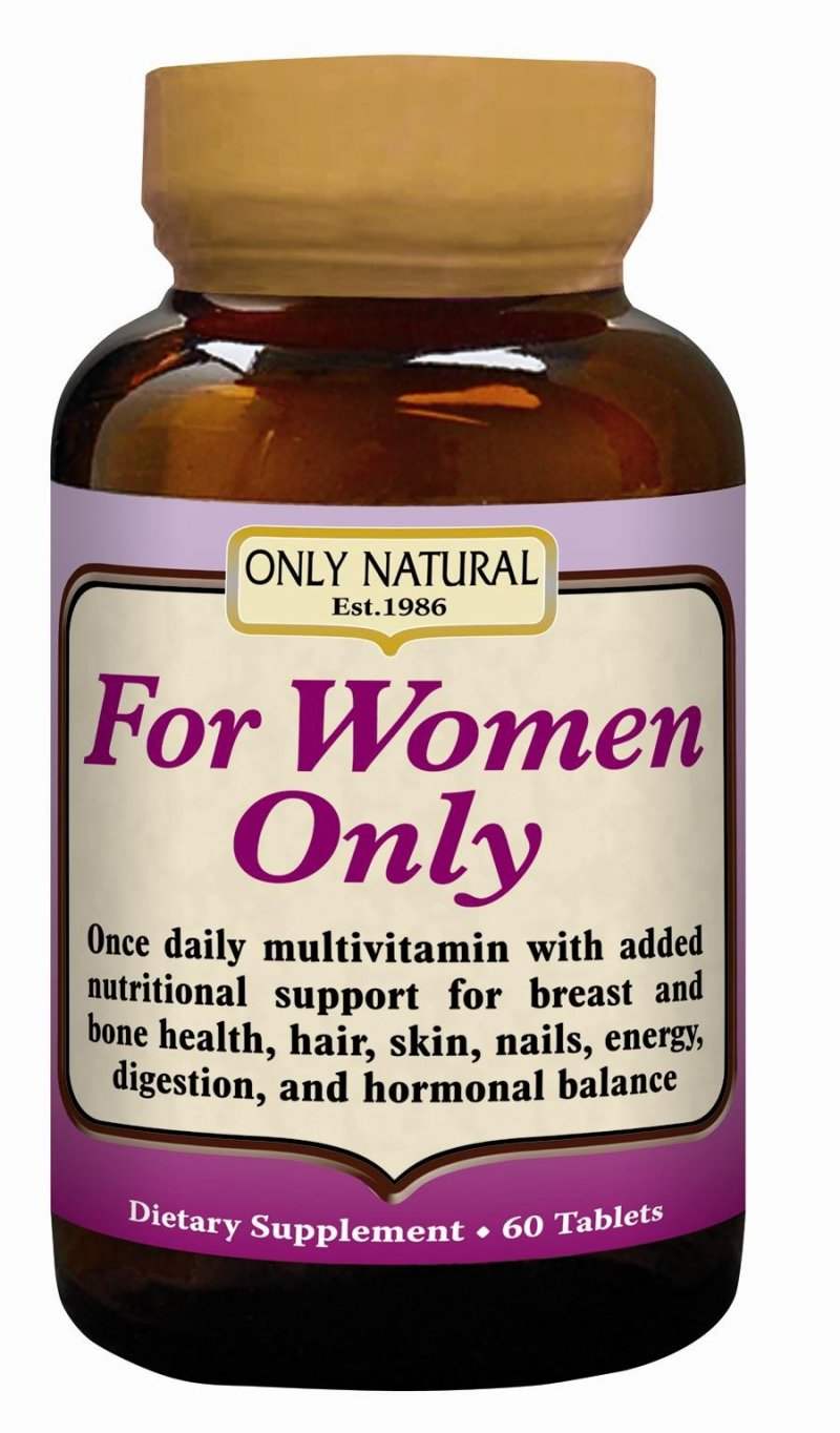 Image 0 of For Women Only Tabs 1x60 Tab Each by ONLY NATURAL