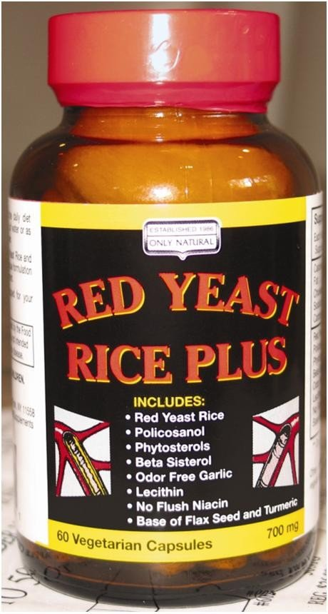 Image 0 of Red Yeast Rice Plus 1x60 VCap Each by ONLY NATURAL
