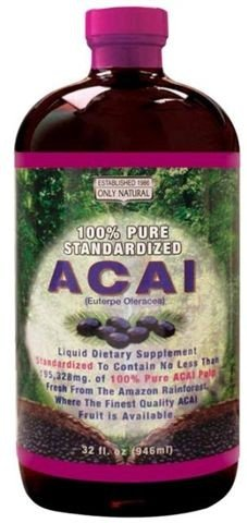 Image 0 of Acai Liq Dietary Supplemont 1x32 Fluid oz Each by ONLY NATURAL